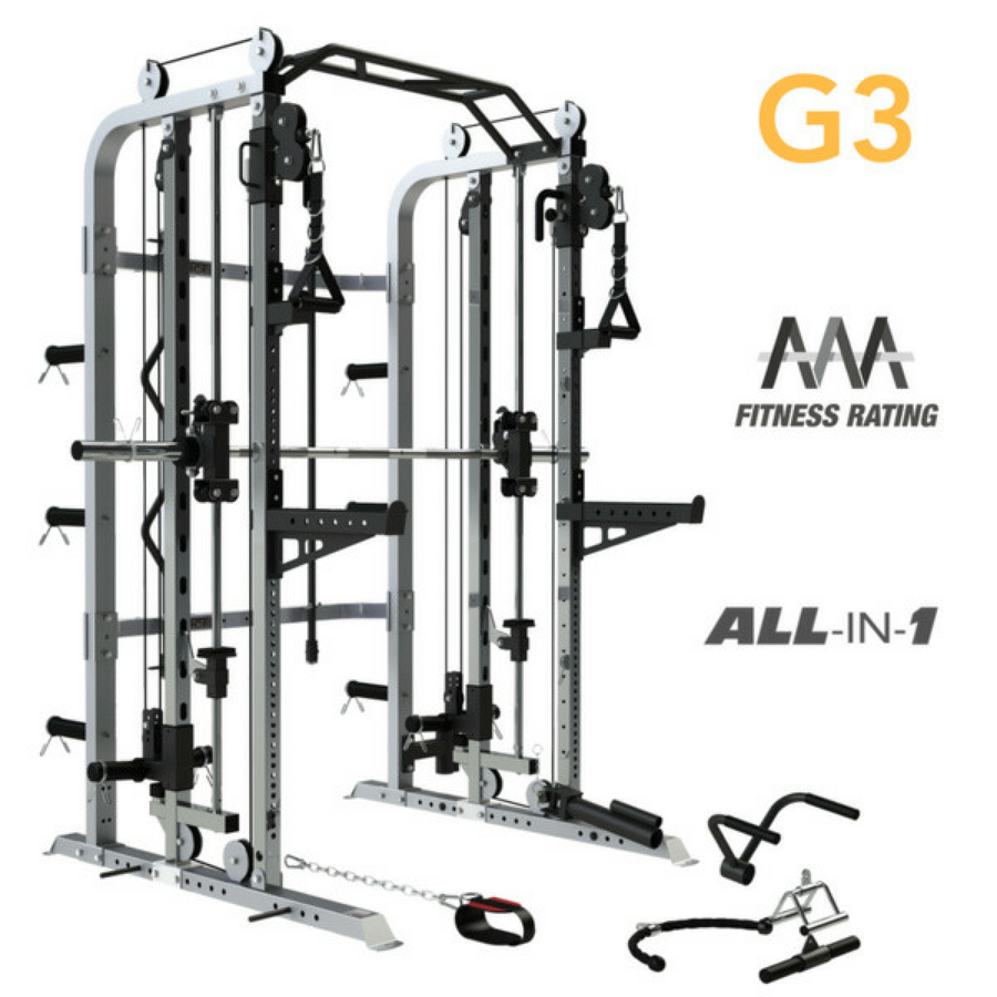 Commercial Gym Equipment Suppliers: Commercial Smith Machine Multi Gym Functional Trainer Rack
